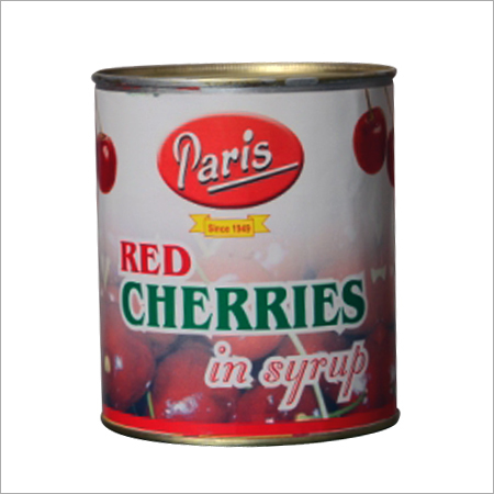 Red Cherries Syrup