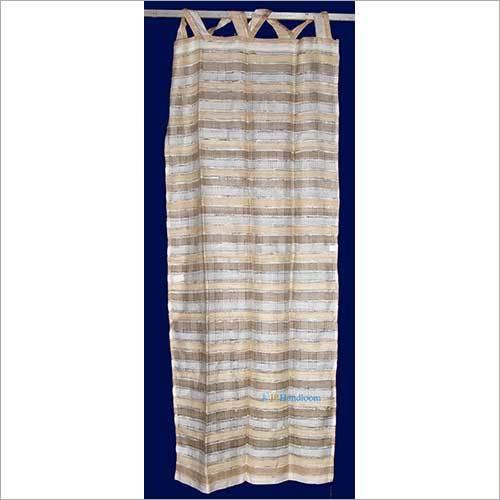 100% Silk Transparent hand made curtain