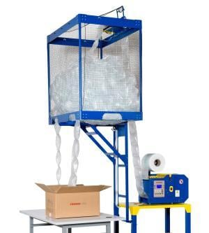 Air Pad Machine with Dispenser