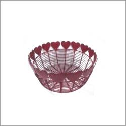 Handcrafted Metal Baskets