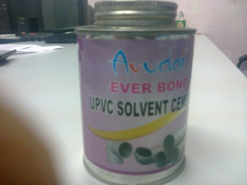 Manufacturer of UPVC Solvent cement