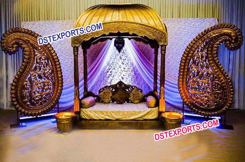 Asian Wedding Jodha Akbar Stage Set