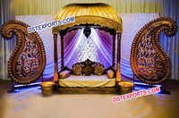 Asian Wedding Jodha Akbar Stage Set
