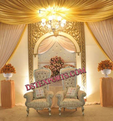 WEDDING STAGE CHAIRS SET