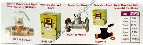 Accurate measurement digital liquid flow meter