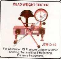 Dead weight tester