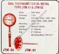 Dial thermometer Bi Metal