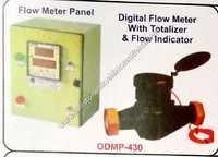 Flow meter panel