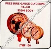 PRESSURE GAUGE GLYCERINE FILLED