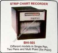 Strip chart recorder