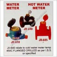 Water meter hot water meter