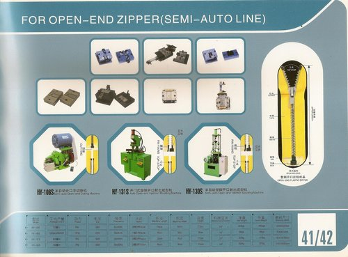 Fully automatic Plastic zipper machine