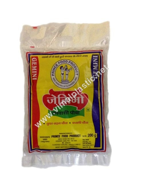 Poha Packaging Bags
