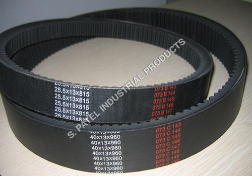 Vari Speed Cogged Belt