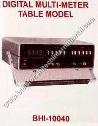 Digital multi-meter table model