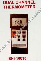 Dual channel thermometer