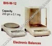 Electronics balance