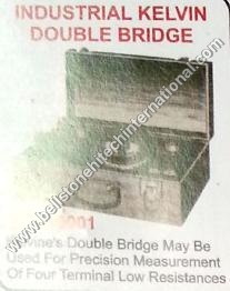 Industrial kelvin double bridge