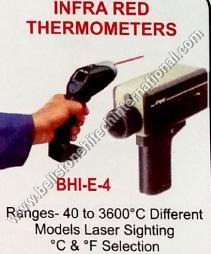 Infra red thermometers