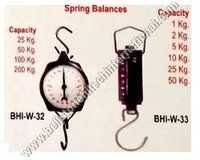 Spring balances