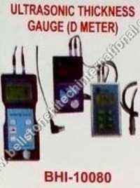 Ultrasonic thickness gauge (D meter)