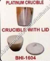 Platinium crucible & crucible with LID