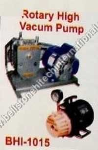 Rotary high vacum pump