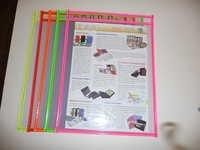Neostyle View Pocket, Multi Colours Sewn Edges A4