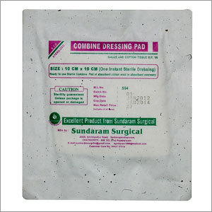 Combine Dressing Pad Sterile