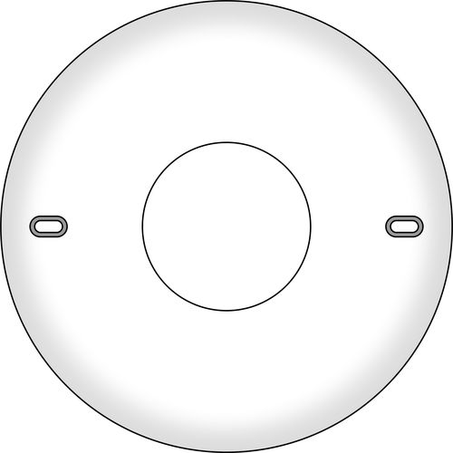 155 MM CEILING PLATE