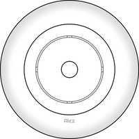 166 MM CEILING PLATE