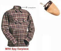 SPY BLUETOOTH EARPIECE SHIRT SET IN DELHI INDIA