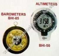 Altimeters & barometers