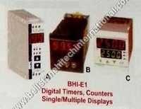 Digital timer , counters single multiple displays