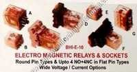 Electro magnetic relays & sockets