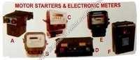 Motor starters & electronic meter