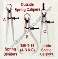Outside spring calipers