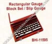Rectangular Gauge Block Set Slip Gauge