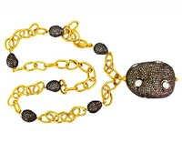 Gold Diamond Necklace Jewelry