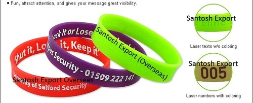 Customized Silicone Wristband