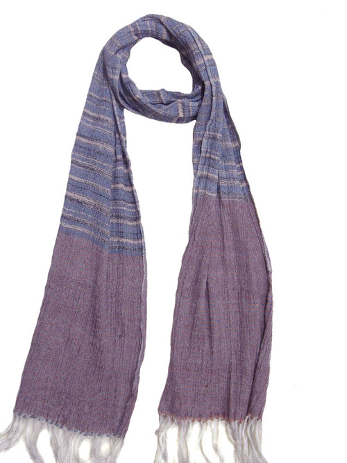 Silk & Wool blended handwoven scarf
