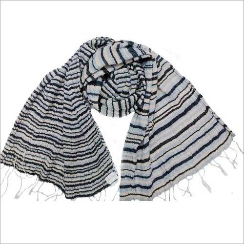 Silk Stripe Design Scarf