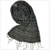 Hand Woven Tussar Crinkle Scarf