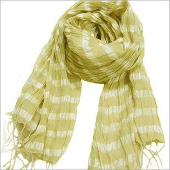 Softest silk crinkle scarf