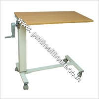 Overbed Table Gear Operated