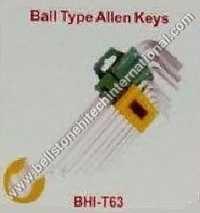 Ball type allen keys