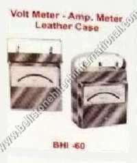 Volt meter Amp meter leather case