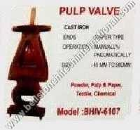 Pulp valve