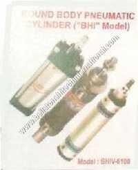 Round body pneumatic cylinder (
