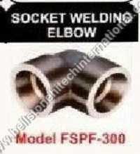 Socket welding elbow